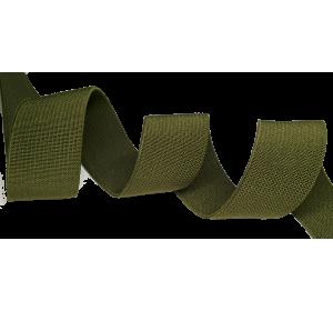Резинка ткацкая 35 мм, хаки