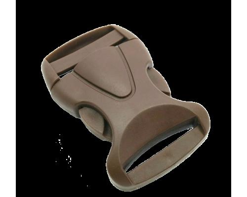 Фастекс 30 мм, арт. Ф-30, цв. коричневый