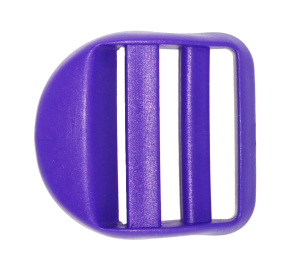 Пряжка крыло, 30 мм, фиолетовая