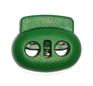 Фиксатор для шнура арт. МКВ-2 зеленый