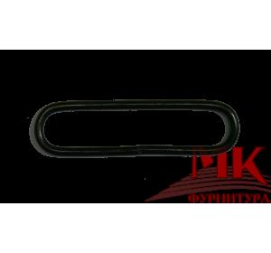 Рамка овальная металлическая 7х40 мм