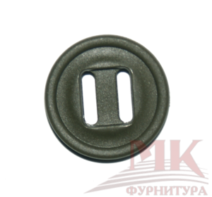 Пуговица КАНАДА 18 мм (хаки)