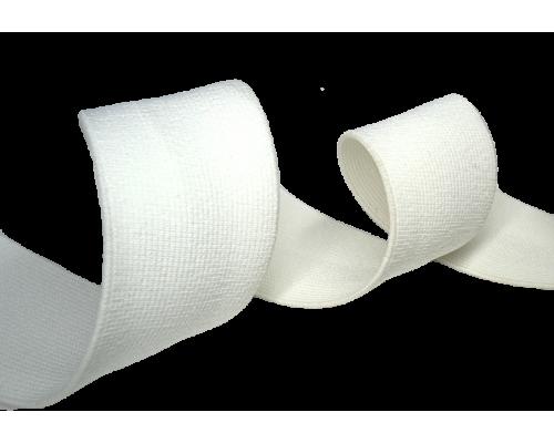 Резинка ткацкая 30 мм белая