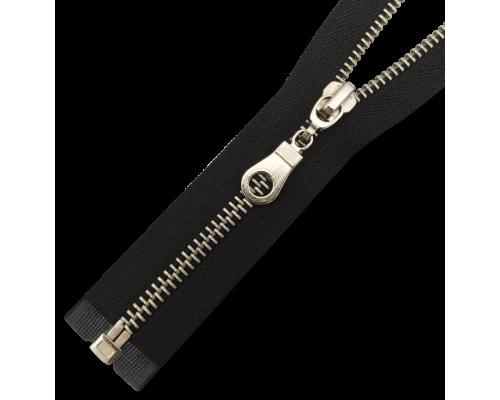Молния Т5 металлическая никель, размеры от 40 до 100 см