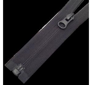 Молния Т6 витая реверсивная, размеры от 18 до 90 см, цвет черный и хаки