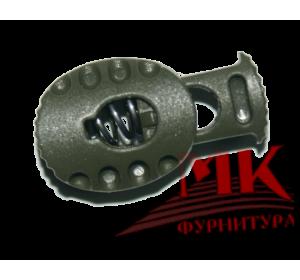 Фиксатор для шнура арт. МКВ-10 темно-серый