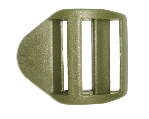Пряжка крыло, 25 мм, цв. хаки