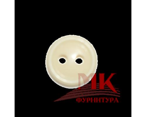 Пуговица 11 мм аминопласт (кремовый)