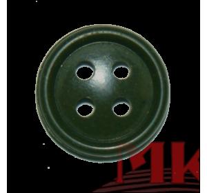 Пуговица 20 мм (аминопласт) цв. оливковый