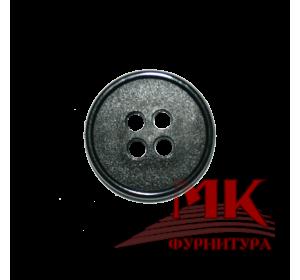 Пуговица полиамид 15 мм